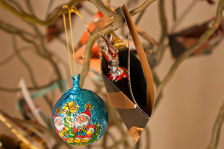 DIY de Noël - Arbre calendrier de l'avent