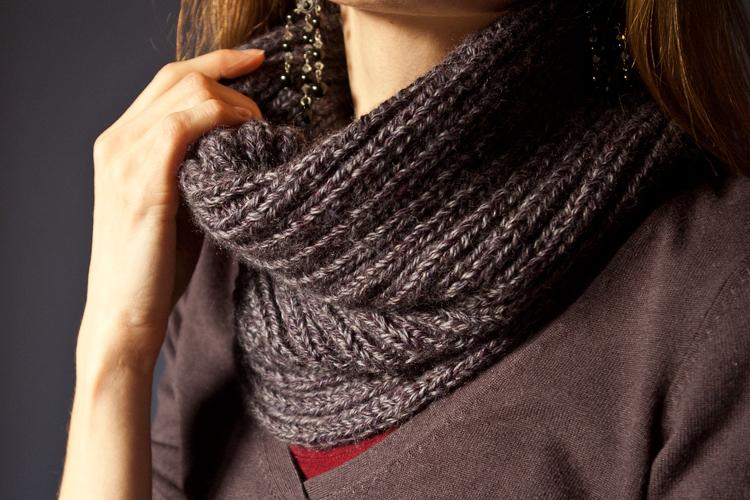 comment tricoter echarpe tube