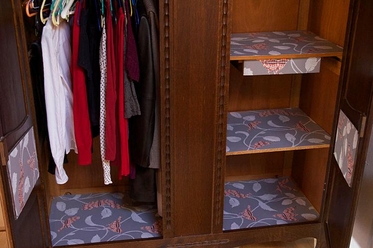 relooking de mon armoire vintage