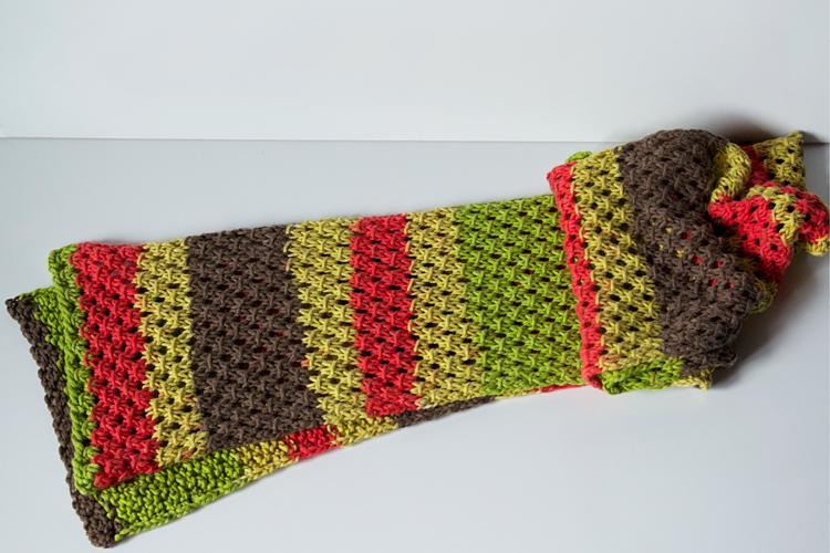 une écharpe printanière