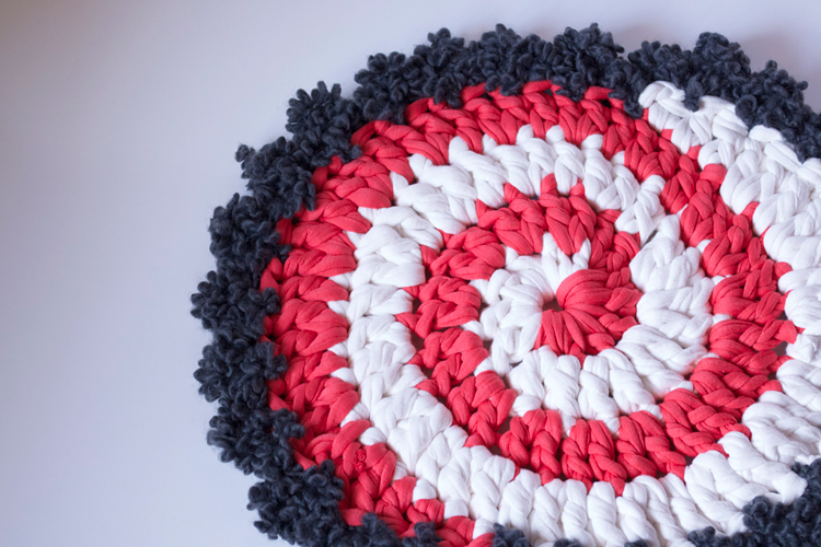 DIY tuto Spirale crochet trapilho
