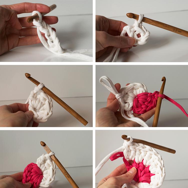 tuto spirale crochet