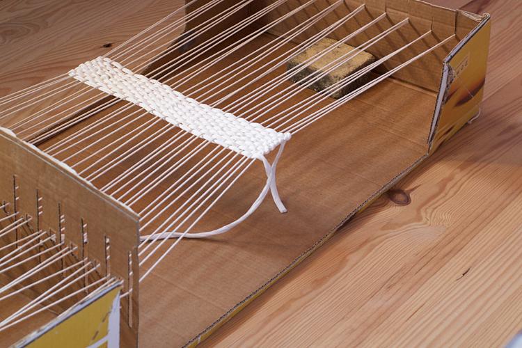 fabriquer metier tissage