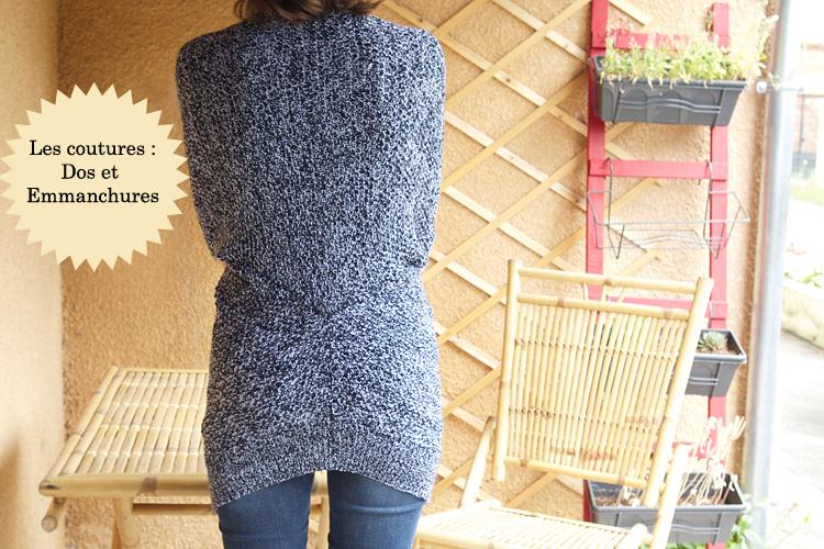 Un gilet chiné au tricot #kalblé