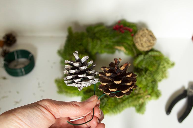 DIY une couronne de Noël