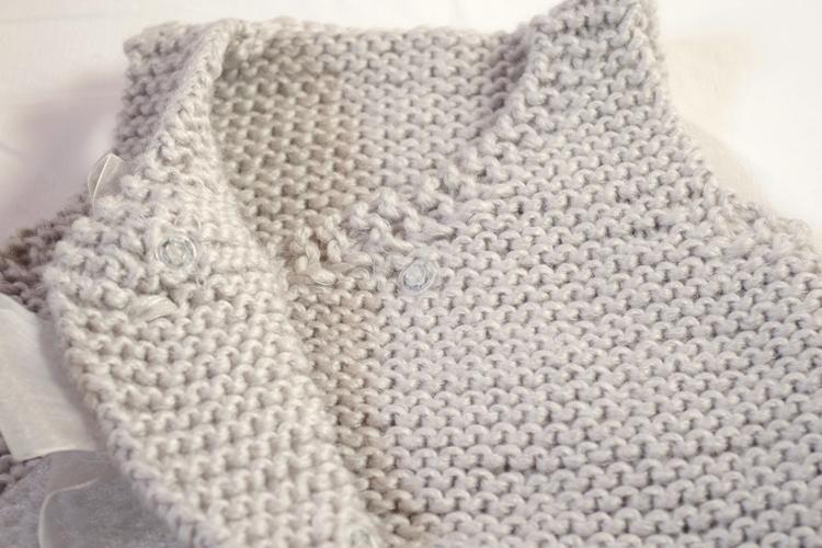 turbulette au tricot fille