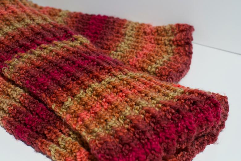 Tricoter Une écharpe En Fausses Côtes Anglaises Apodioxefr