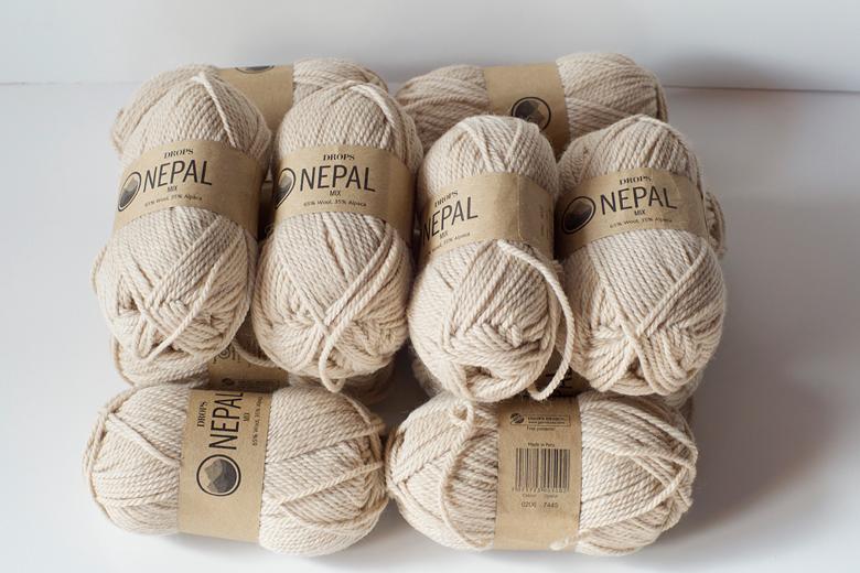 pelote de laine alpaca