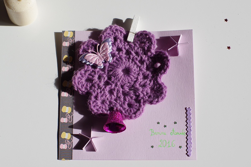 diy carte de voeux crochet Viking