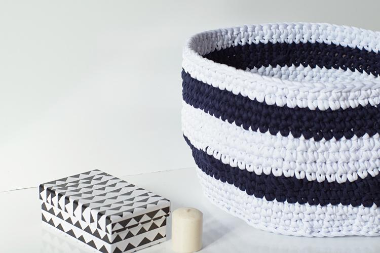 grand panier crochet