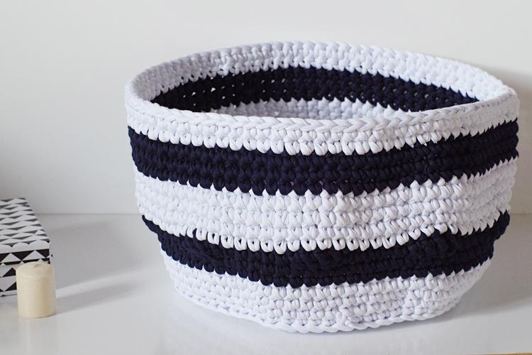 panier rangement crochet