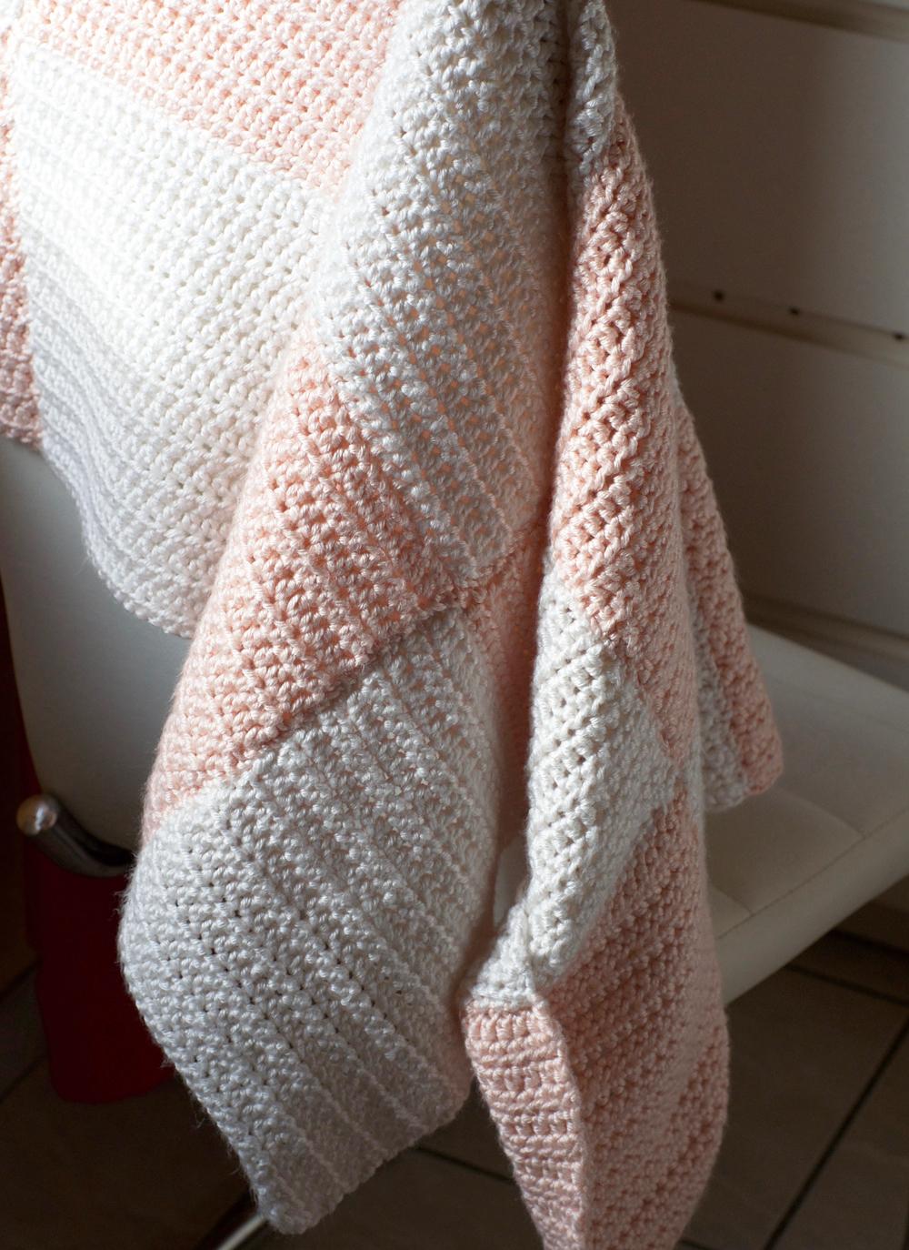 Réaliser Une Couverture Au Crochet Pour Bébé Apodioxefr